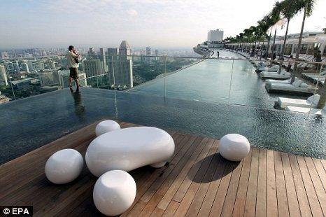 Luxusný bazén s úžasným výhľadom